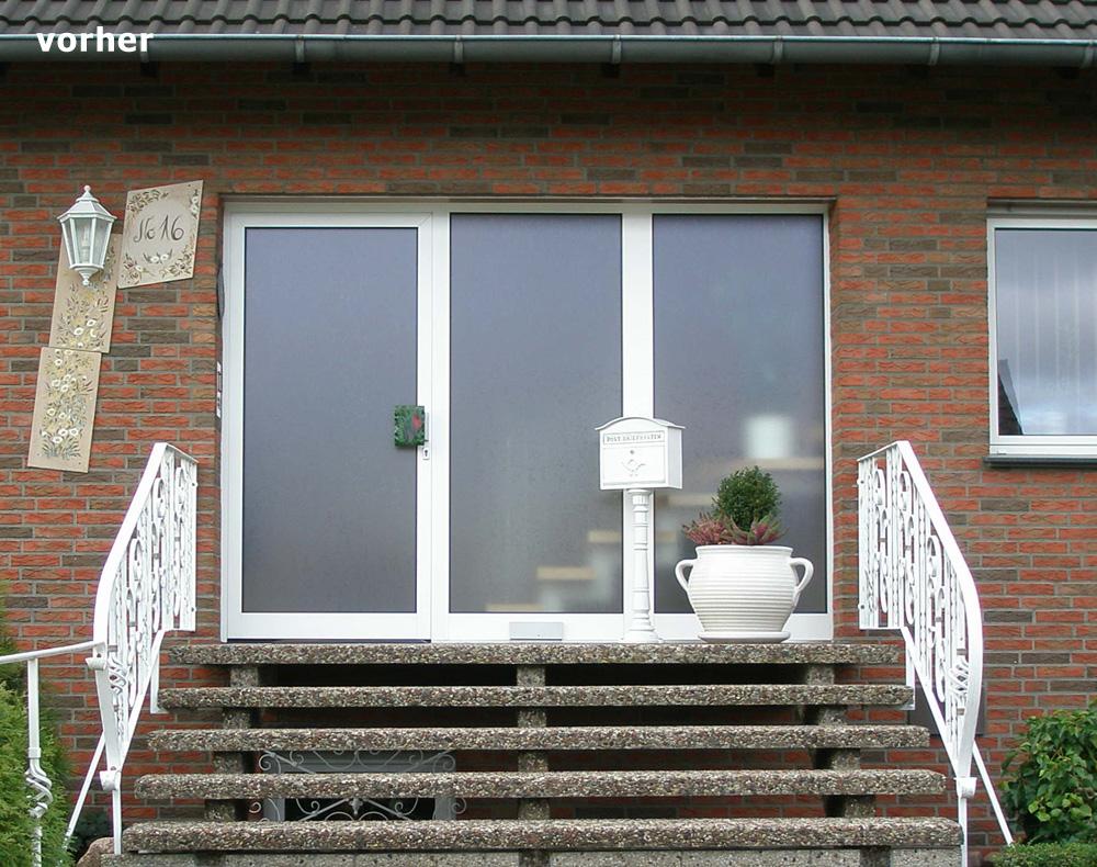 Sprossenfenster in Haustüren