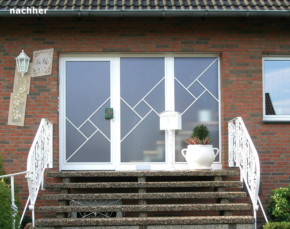 Sprossenfenster für Haustüren